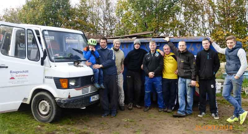 2014-10-25 Schrottsammlung SGA1